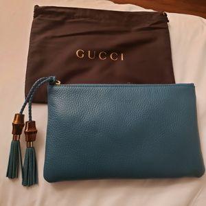NIB Gucci medium clutch